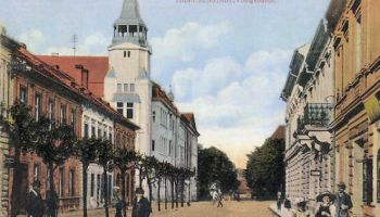 Theresienstadt, Postgebäude
