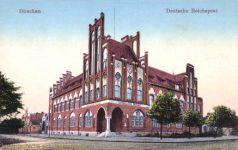 Dirschau, Deutsche Reichspost