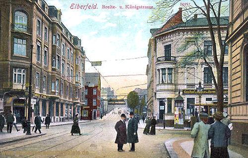 Elberfeld, Breite- und Königstraße