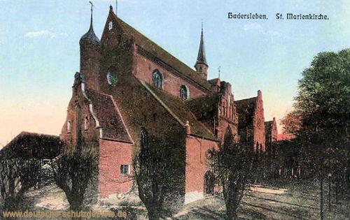 Hadersleben, St. Marienkirche