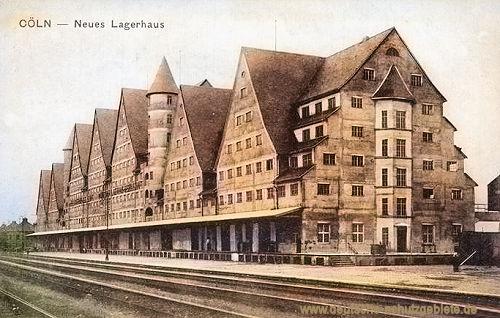 Köln. Neues Lagerhaus