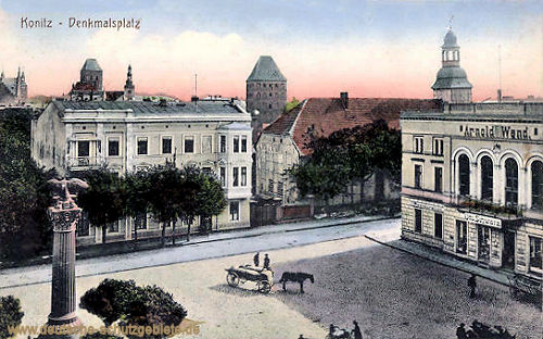 Konitz, Denkmalsplatz