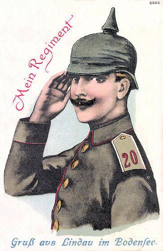 Lindau im Bodensee, Mein Regiment
