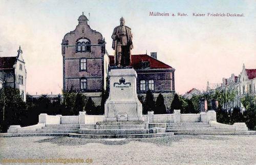 Mülheim a. .d Ruhr, Kaiser Friedrich-Denkmal