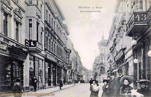 Mülheim am Rhein, Buchheimerstraße