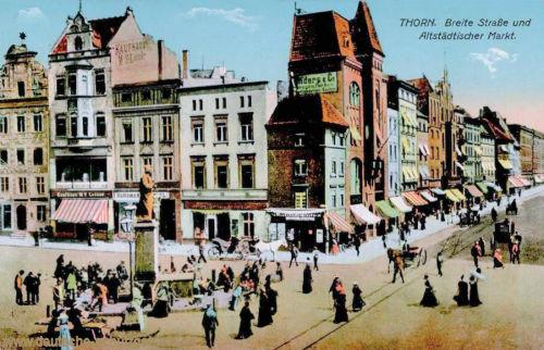 Thorn, Breite Straße und Altstädtischer Markt