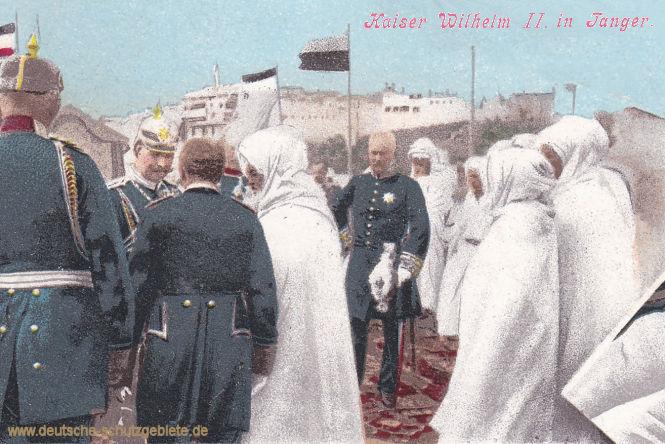 Kaiser Wilhelm II. in Tanger