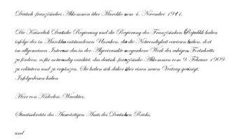 Marokkoabkommen 1911