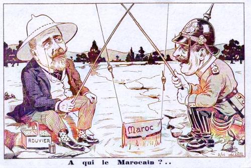 Marokkokrise 1905, Rouvier und Wilhelm II.