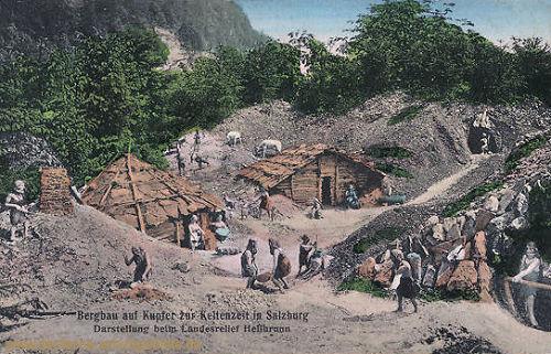 Bergbau auf Kupfer zur Keltenzeit in Salzburg