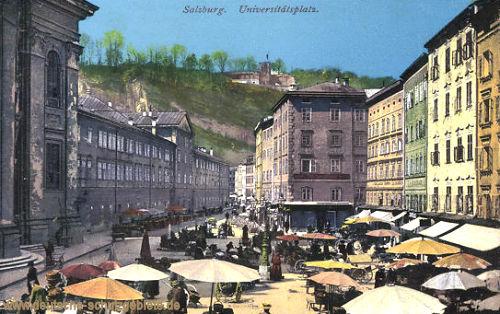 Salzburg, Universitätsplatz
