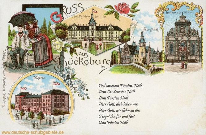 Gruß aus Bückeburg, Hymne Schaumburg-Lippe