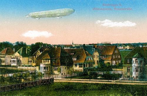 Rüstringen II, Villenkolonie Rosenstraße