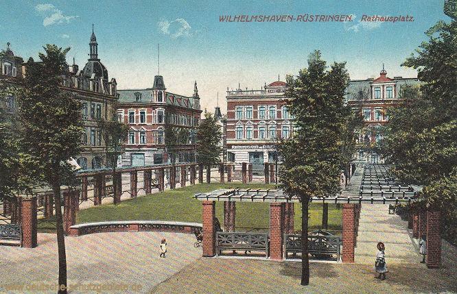 Wilhelmshaven-Rüstringen, Rathausplatz