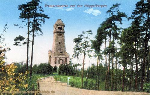 Köpenick, Bismarckwarte auf den Müggelbergen