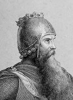 Kaiser Friedrich I., genannt Rotbart bzw. Barbarossa um 1122 - 1190  Kaiser des römisch-deutschen Reiches von 1155 bis 1190