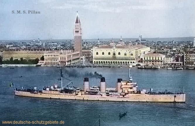 S.M.S. Pillau in Venedig