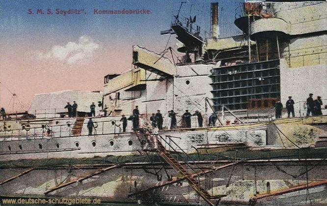 S.M.S. Seydlitz Kommandobrücke