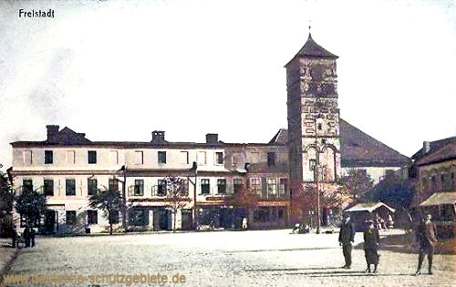 Freistadt österreichisch Schlesien, Stadtplatz