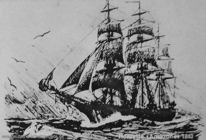 Korvette Amazone 1843