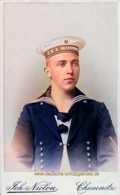 S.M.S. Brandenburg Besatzungsmitglied