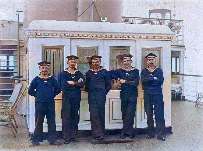S.M.S. Hohenzollern Besatzungsmitglieder