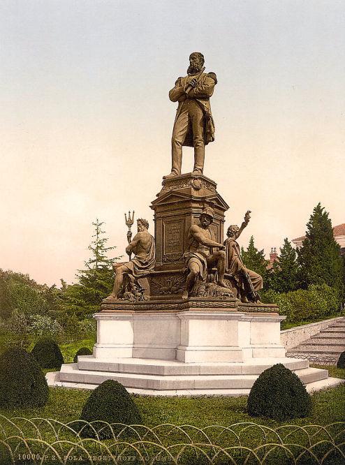Pola. Tegetthoff Monument.