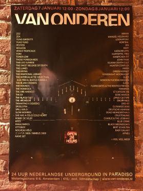 van-onderen-poster