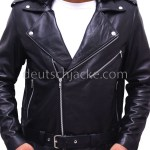 Milo Ventimiglia Gilmore Girls Hooded Biker Jacket2