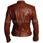 Slim Fit Women Brown Body Fitted.