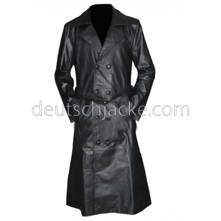 Spike Buffy the Vampire Slayer Trench Leather Jacket
