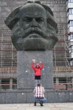 Karl-Marx-Stadt und Karl-Marx-Kopf
