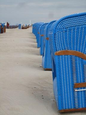 Strandkörbe in Warnemünde I