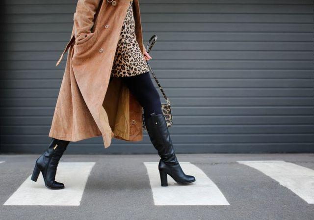 Kleider im Winter mit Strumpfhosen stilvoll kombinieren