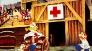 Asterix bei den Briten – und ein denkwürdiges Rugbyspiel.
