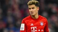 Derzeit nicht in Bestform: Bayern-Profi Philippe Coutinho