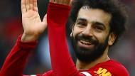 Mohamed Salah und der FC Liverpool dürfen weiter auf den Meistertitel hoffen.