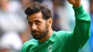 Denkt noch nicht an sein Abschiedsspiel: Fußball-Profi Claudio Pizarro