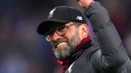 """Freut sich, seine Jungs """"irgendwann wiederzusehen"""": Liverpool-Trainer Jürgen Klopp"""