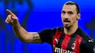 Zlatan Ibrahimovic ist nie um einen Spruch verlegen.