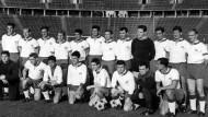 31 Bundesliga-Spiele ohne Sieg: Das schaffte bisher nur Tasmania Berlin. (Bild vor der Saison 1965/66)