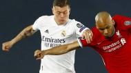 Wichtig im Duell mit dem FC Liverpool: Toni Kroos (links)