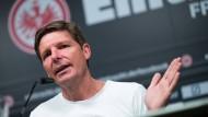 Der Spaß kommt bei ihm aktuell nicht zu kurz: Eintracht-Trainer Oliver Glasner