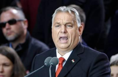 Orban eröffnet Wahlkampf in Ungarn mit Brandrede gegen die EU