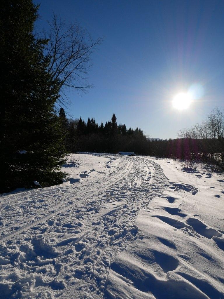 Sentier chutes croches sépaq Tremblant