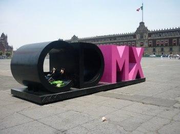 Emblème de la ville - Zocalo Mexico