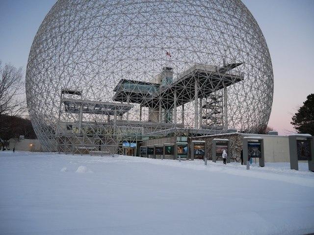 Biosphère, parc Jean-Drapeau