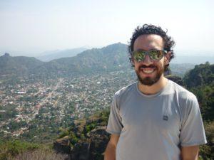Pierre en haut du Tepozteco - Tepoztlán