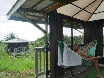 Airbnb hammac à Pepeekeo