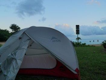 Camping Haena